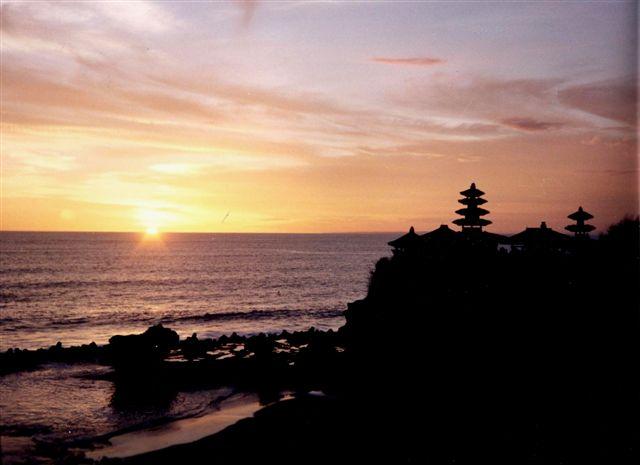 Posta de sol -Bali